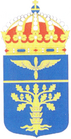 Arms of 17th Wing Blekinge Wing, Swedish Air Force