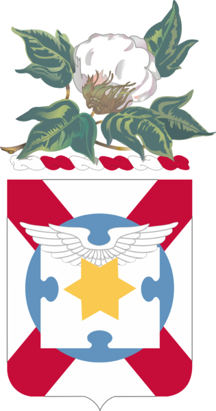 Coat of arms (crest) of the 131st Aviation Regiment, Alabama Army National Guard