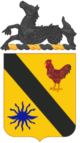 Coat of arms (crest) of the 315th Cavalry Regiment, US Army
