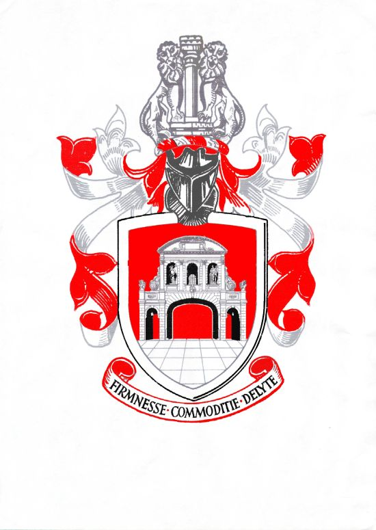 Arms of Worshipful Company of Chartered Architects