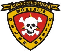 Coat of arms (crest) of the 3rd Reconnaissance Battalion, USMC