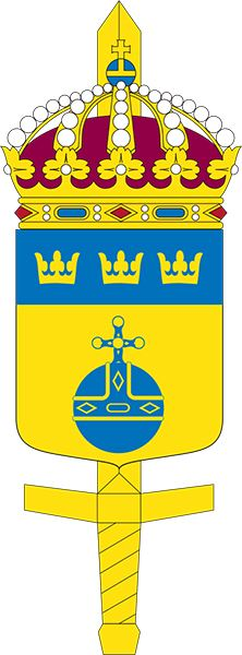 Coat of arms (crest) of the Military Region Center, Sweden