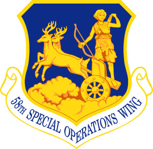 Arms of 58th Special Operations Wing, US Air Force