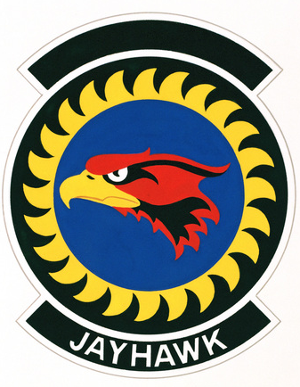 Coat of arms (crest) of the 134th Tactical Control Flight, US Air Force