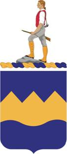 Coat of arms (crest) of the 414th (Infantry) Regiment, US Army