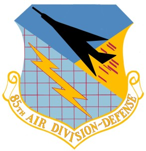Coat of arms (crest) of the 85th Air Division, US Air Force