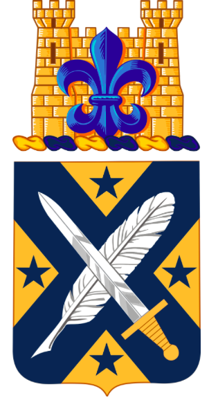 Coat of arms (crest) of the 39th Adjutant General Batttalion