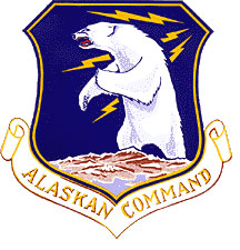Coat of arms (crest) of the Alaskan Command, US Air Force