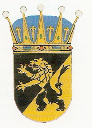 Arms of 7th Wing Skaraborg Wing, Swedish Air Force