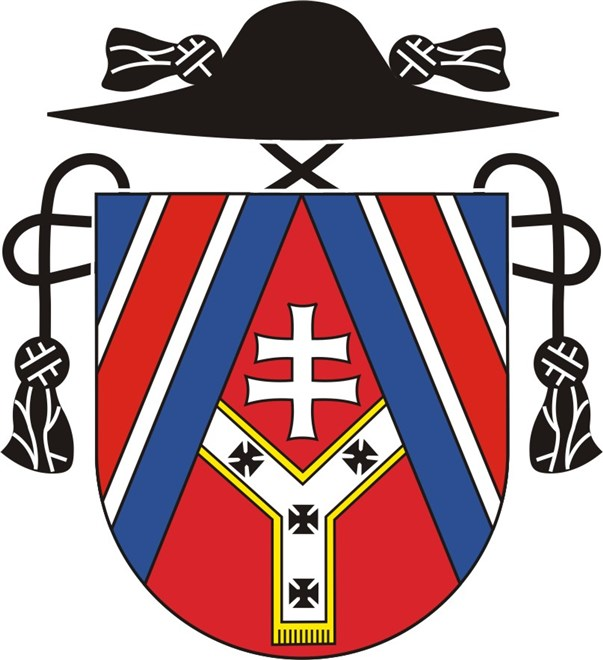 Arms (crest) of the Slovak Catholic Mission in London