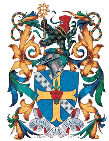 Arms (crest) of Bishop Grosseteste University