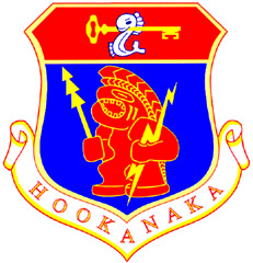 Coat of arms (crest) of the Hawaii Air National Guard, US
