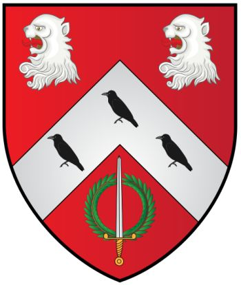 Arms of St Anne's College (Oxford University)