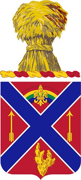 Coat of arms (crest) of the 175th Field Artillery Regiment, Minnesota Army National Guard