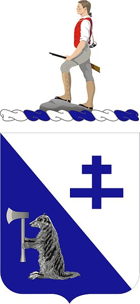 Coat of arms (crest) of the 274th Infantry Regiment, US Army