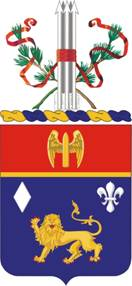 Coat of arms (crest) of the 197th Field Artillery Regiment, New Hampshire Army National Guard