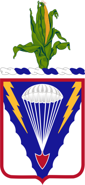 Arms of 134th Infantry Regiment, Nebraska Army National Guard