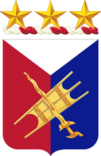 Coat of arms (crest) of the 1st Filipino Infantry Regiment, US Army