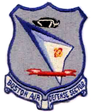 Coat of arms (crest) of the Boston Air Defense Sector, US Air Force