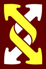 Arms of 143rd Sustainment Command, US Army