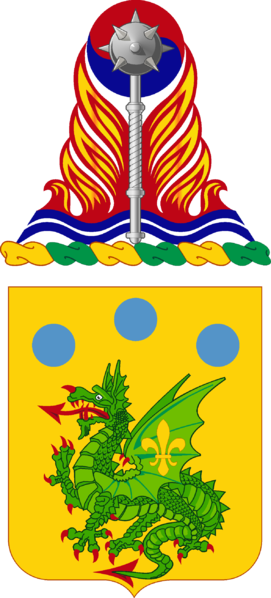 Coat of arms (crest) of the 72nd Armor Regiment, US Army