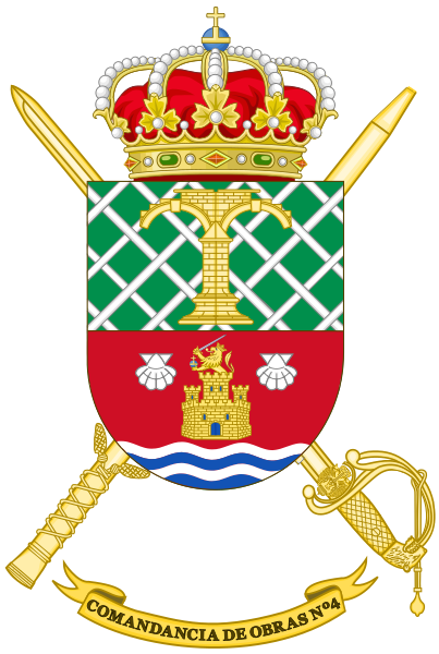 File:4th Construction Command, Spanish Army.png