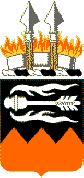 Coat of arms (crest) of the 141st Signal Battalion, US Army