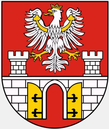 Arms (crest) of Będzin (county)