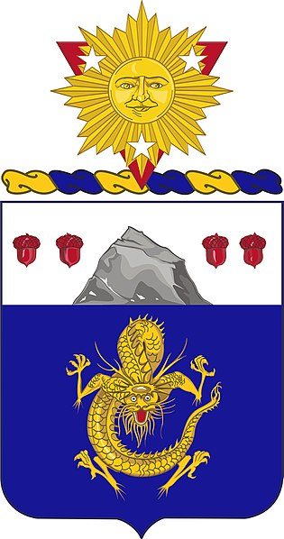 Coat of arms (crest) of the 15th Infantry Regiment, US Army