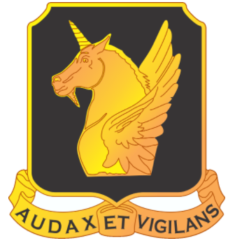 Arms of 317th Cavalry Regiment, US Army