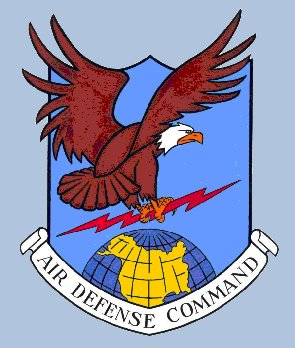 Coat of arms (crest) of the Air Defense Command, US Air Force