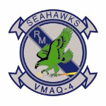 Coat of arms (crest) of the VMAQ-4 Seahawks, USMC