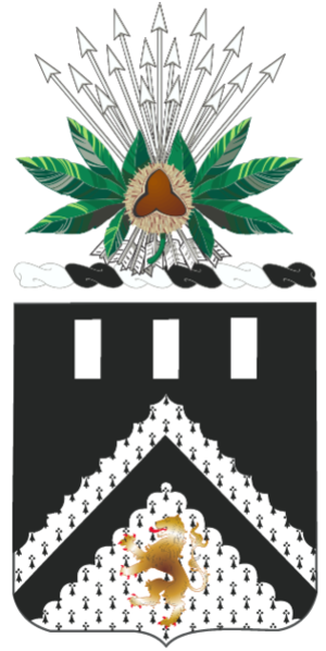 Coat of arms (crest) of the 112th Engineer Battalion, Ohio Army National Guard