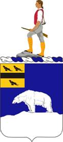 Coat of arms (crest) of the 339th (Infantry) Regiment, US Army