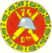 Coat of arms (crest) of the 74th Division