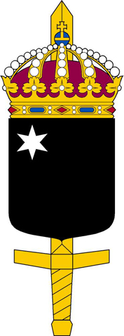 Coat of arms (crest) of the Defence Forces Special Forces Units,Sweden