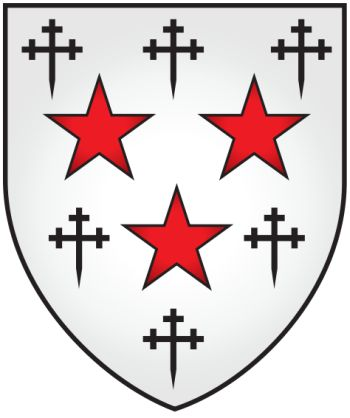 Arms of Somerville College (Oxford University)