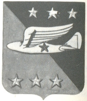 Coat of arms (crest) of the 313th Troop Carrier Group, USAAF