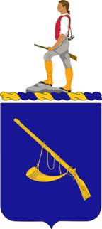 Coat of arms (crest) of the 399th (Infantry) Regiment, US Army