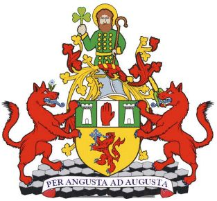 Arms (crest) of Antrim (county)
