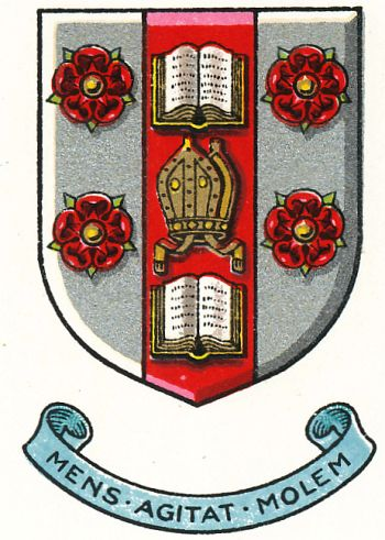 Arms of Rossall School