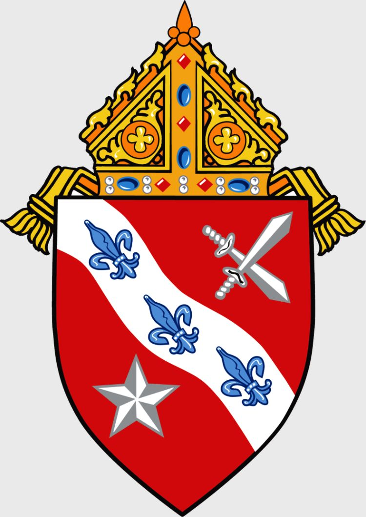 Arms (crest) of Diocese of Dallas