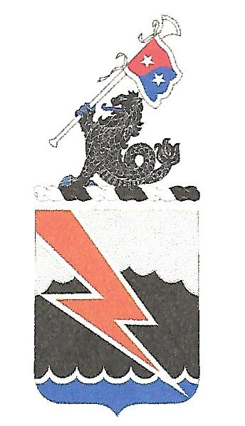 Arms of 304th Signal Battalion, US Army