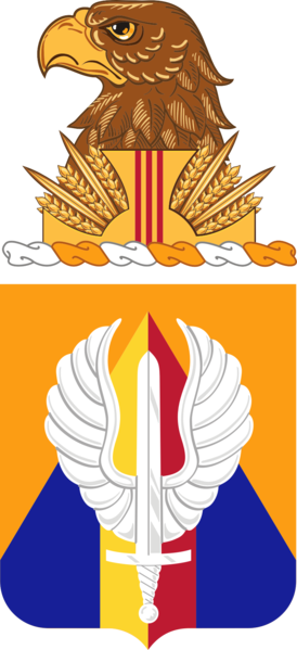 Coat of arms (crest) of the 13th Aviation Regiment, US Army