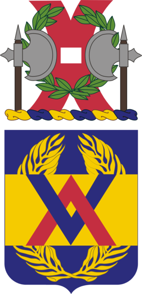 Coat of arms (crest) of the 264th Support Battalion, US Army