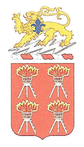 Arms of 447th Signal Battalion, US Army