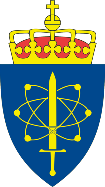 Coat of arms (crest) of the Defence Research Establishment, Norway