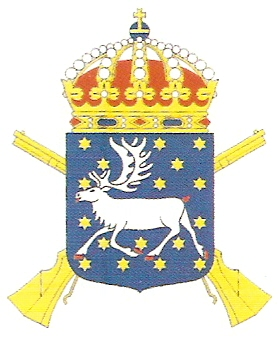Coat of arms (crest) of the 19th Infantry Regiment Norrbotten Regiment, Swedish Army