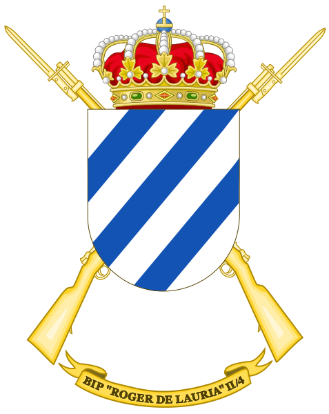 File:Protected Infantry Bandera Roger de Lauria II-4, Spanish Army.png