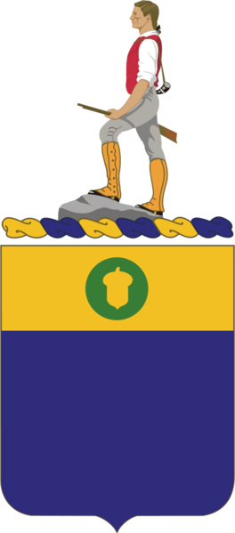 Coat of arms (crest) of the 347th (Infantry) Regiment, US Army